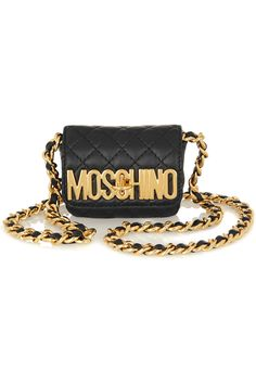 1930bebb61b Moschino - Quilted mini leather shoulder bag