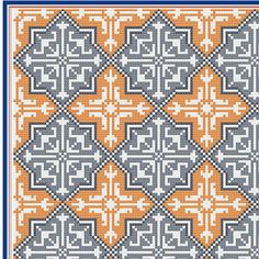 Moroccan tile pattern PDF file cushion von VictoriaHenleyDesign