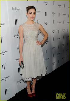 Emma Stone & Elizabeth Olsen Party Before the Globes