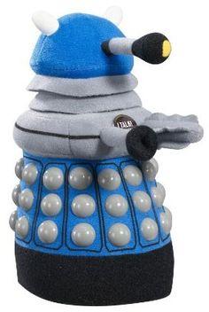 Doctor Who Talking Plush Dalek on www.amightygirl.com