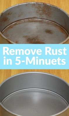Easy cleaning hacks and lifestyle tips for your kitchen! Learn how to easily and effectively remove rust from your aluminum pots and pans with this awesome cleaning tip and tutorial! Deep Cleaning Tips, House Cleaning Tips, Diy Cleaning Products, Cleaning Solutions, Spring Cleaning, Cleaning Hacks, Diy Hacks, Cleaning Rust, Cleaning Recipes