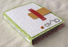 Idée de mini fait à la Bind it all par Laurescrap: http://laurescrap.over-blog.com/article-labyrinthe-51942344.html