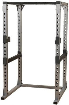 Freedom of movement combined with adjustable racking and safety positions make the Power Rack a must-have for those who want to strength train without compromise. The Body-Solid Pro Power Rack is designed to work with all types of benches and enginee. Extreme Workouts, Fun Workouts, Training Equipment, No Equipment Workout, Power Rack For Sale, Body Solid Power Rack, Bodybuilder, Weight Rack, Home Gym Exercises