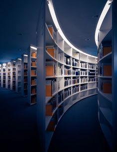 Bibliothèque IHEID, Genève, Switzerland by Martin Adams