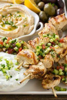 Chicken Souvlaki Kabobs