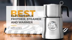 Are you a coffee aficionado? If so, then you should check out our list of the best electric milk frother, steamer and warmer that can up your coffee game. Coffee Magazine, Coffee Games, Coffee Table Base, Steamer, Milk, Good Things, Canning, Electric, Check