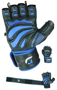 Grip Power Pads Elite Leather Gym Gloves with Built-in Wide Wrist Wraps - Leather Glove Design for Weight Lifting, Power Lifting, Bodybuilding & Strength Training Workout Exercises Best Gloves, Gym Gloves, Benefits Of Strength Training, Weight Lifting Gloves, Strength Training Workouts, Powerlifting, Weightlifting, Sport Wear, Leather Gloves