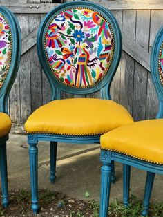 Otomi Chairs Brighten Up A Familyu0027s New Home   The Chair Stylist