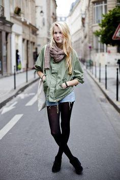 paris street style    Streetstyle: Neue Looks