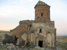 "Saint Gregory of Tigran Honents, Some call it the ""City of 1001 Churches"" and some know it as the ""City of 40 Gates:"" the now-abandoned medieval city stands on a lonely plateau in Armenia, 45km away from Kars, Turkey. Founded more than 1,600 years ago"
