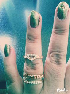 anillos a medio dedo