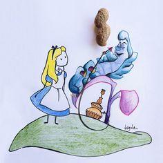 """®  ➳ info@diariodivirgola.it on Instagram: """"Un giorno Alice arrivò ad un bivio sulla strada e vide lo Stregatto sull'albero. - """"Che strada devo prendere?"""" chiese. La risposta fu una…"""""""