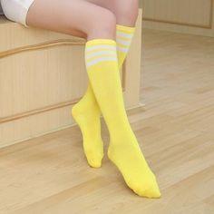 Thigh High Socks, Knee Socks, Long Socks For Girls, Kawaii Store, Japanese Uniform, Knee High Stockings, Thing 1, Street Dance, Kpop Merch