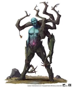 Warhammer Wood Elves, Warhammer Fantasy, Fantasy Rpg, Dark Fantasy Art, Monster Concept Art, Fantasy Monster, Monster Art, Creature Concept Art, Creature Design