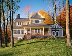 Love the exterior of this 3 Bedroom Country House Plan from ePlans.com - plan HWEPL01980