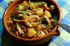 Тушеные кальмары с картофелем по-генуэзски – Вся Соль - кулинарный блог Ольги Баклановой