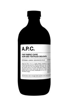 A.P.C. & Aesop / Fine Fabric Care / Packaging / 2010