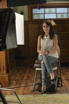 Ready for her closeup! Don't miss the PLL Halloween special Tuesday, Oct 21 at 8/7c on ABC Family!