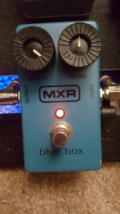(NPD) MXR Blue Box (Fuzz Sub Octave)