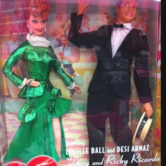Lucy and Ricky Barbies