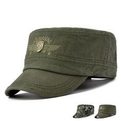 0065fc0fd22 New Army Camo Cadet Patrol Castro Cap US Naval Hats Men Summer Radar  Baseball Cap Army
