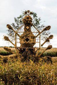 Autumn Equinox // Fire sculpture by Jordi NN and Mantvydas Vilys