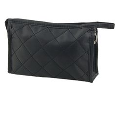 ASDS Portable Black Girls Grid Pattern Cosmetic Make Up Small Zippered Bag Case