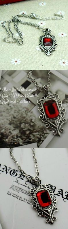 The Mortal Instruments City of Bones Isabella Lightwood Necklace! Click The Image To Buy It Now or Tag Someone You Want To Buy This For.  #TheMortalInstrumentsCityOfBones