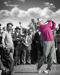 Brandt Snedeker, Professional Golfer & Peter Millar Brand Ambassador.