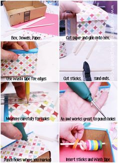 how to craft a dispenser washi dispenser from a box washi dispenser 6756