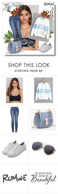 """romwe"" by melisa-484 ❤ liked on Polyvore featuring Filippa K, 2LUV and WALL"