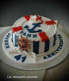 La Maison Sucrée: Un gâteau marin                                                                                                                                                                                 Plus