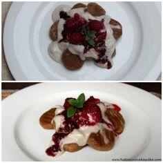 Kaštanové gnocchi s kokosovým přelivem – A SPOON OF HISTAMINE Waffles, Pancakes, Gnocchi, Spoon, Breakfast, Morning Coffee, Waffle, Pancake, Spoons