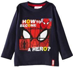 Spiderman Marvel HM1054 Boy's T-Shirt on shopstyle.co.uk