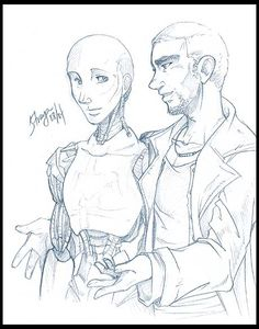 Sonny and Spooner by straya on DeviantArt Fanfiction, Robot, Scene, Deviantart, Fantasy, Fantasy Books, Robots, Fantasia, Stage