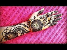 Mehndi Design with attractive look 2018 Heena Design, Mehndi Designs, Henna Mehndi, Hand Henna, Look 2018, Tattoos, Flowers, Tatuajes, Tattoo