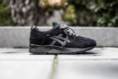 ASICS GEL-LYTE V 'SHADOW PACK' BLACK/BLACK available at http://www.tint-footwear.com/asics-gel-lyte-v-9137 asics tint footwearstudio all black sneakers munich