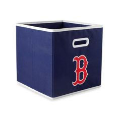 MLB Boston Red Sox Fabric Drawer in Blue - BedBathandBeyond.com