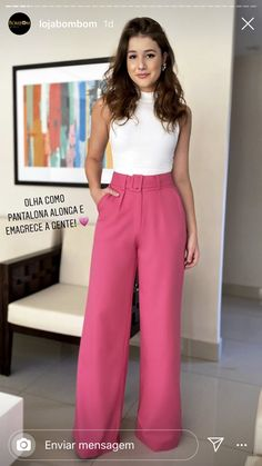 Casual Chic, Work Casual, Look Office, Office Looks, Best Jeans For Women, Pants For Women, Stylish Work Outfits, Casual Outfits, Look Fashion