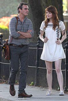Irrational man - Woody Allen Cinema Cinema, Woody Allen, Emma Stone, Hipster, Watch, Film, Style, Fashion, Movie