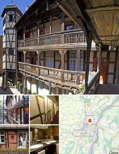 Este hotel histórico encantador situa-se no centro de Estrasburgo, próximo da catedral e do Rio Ill, e é considerado uma das mais bonitas propriedades em Estrasburgo. A sua localização central oferece fácil acesso aos locais de interesse da cidade, como o Palais Rohan e a catedral de Estrasburgo. Os hóspedes encontrarão restaurantes e um terminal rodoviário junto deste hotel de negócios e o terminal rodoviário localiza-se a aproximadamente 3 km. Até ao Aeroporto Internacional de Estrasburgo…