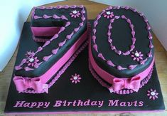 Trendy Birthday Cake Ideas For Mom Dads 29 Ideas - Birthday Cake Fruit Ideen Happy Birthday Torte, 70th Birthday Cake For Women, 70th Birthday Party Ideas For Mom, 70th Birthday Parties, Fabulous Birthday, 75th Birthday, Birthday Cupcakes, Mom Birthday, Birthday Celebration