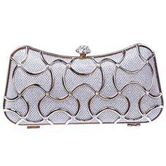 Fawziya Metal Wave Mesh Girls Prom Bag Party Handbag Purse Clutch - Silver Fawziya http://www.amazon.com/dp/B00JOA8JW8/ref=cm_sw_r_pi_dp_PDh7wb0TEDMRC