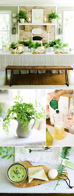 Summer is the time for relaxed white linens, fresh cucumber water and new growth that breathes life into the long hot days of the season. What better time to bring the outdoors in than to host an...