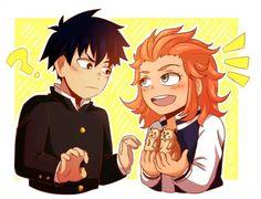 Ritsu and Fem!Shou