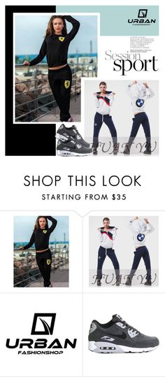 """URBAN FASHION SHOP"" by amra-mak ❤ liked on Polyvore featuring NIKE and urbanfashionshop"