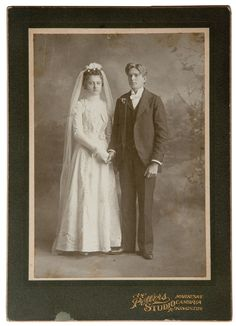 Vintage Wedding Photos, Wedding Pictures, Vintage Weddings, Formal Wedding, Davids Bridal, Newlyweds, Wedding Dresses, Dress Vintage, Kingston