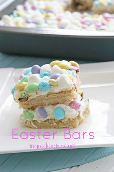 3 Ingredient Easter Bars