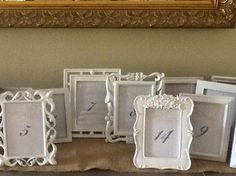 Table Numbers $105