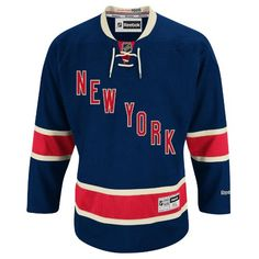 New York Rangers Reebok Premier Replica Alternate NHL Hockey Jersey - Size Medium